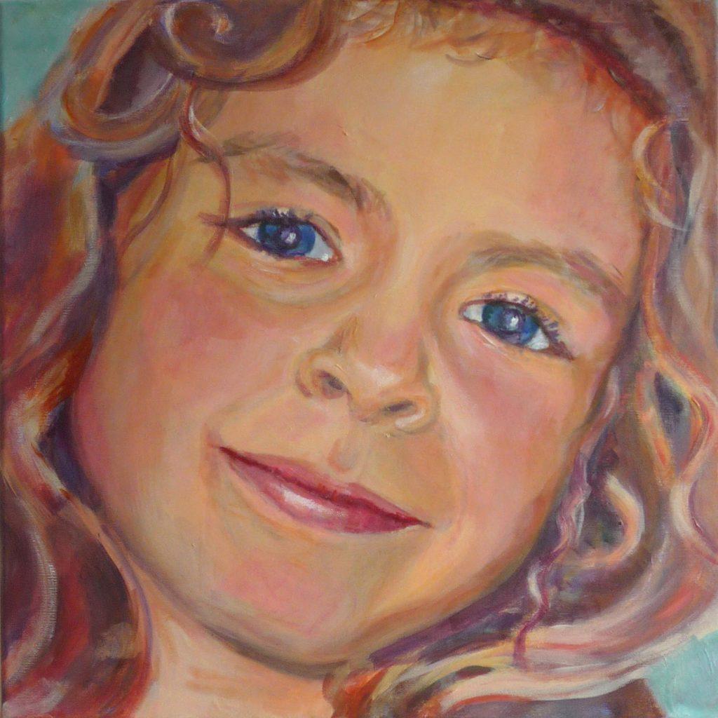 portret schilderij in opdracht maken
