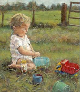 Schilderij Lida Meines Amersfoort