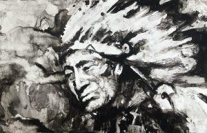 native american schilderij kopen