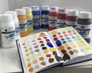 kleurenboekje