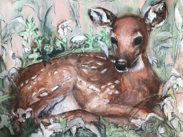 Bambi schilderij te koop