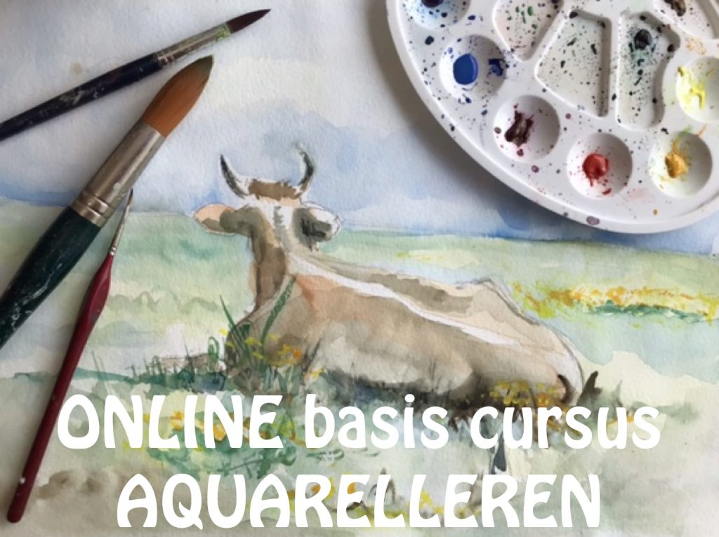 online basis cursus aquarel