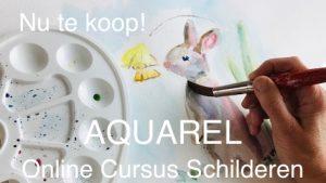 te koop online cursus aquarelleren