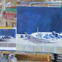 werk cursist cursus schilderen met acryl in amersfoort