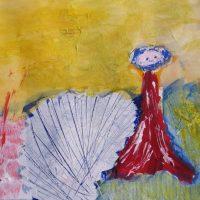 werk cursist van cursus schildertechnieken Lida Meines